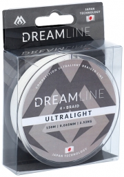 Plecionka Dream Line – Competition i Ultralight 0,035MM/2,53KG  BIAŁA