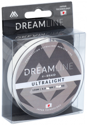 Plecionka Dream Line – Competition i Ultralight 0,047MM/3,87KG  BIAŁA