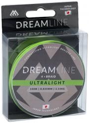 Plecionka Dream Line – Competition i Ultralight 0,047MM/3,87KG  ZIELONA