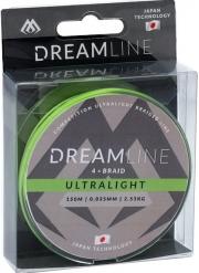 Plecionka Dream Line – Competition i Ultralight 0,035MM/2,53KG  ZIELONA