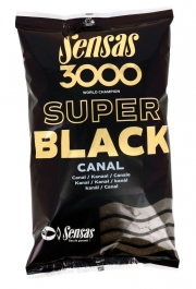ZANĘTA SENSAS 3000 SUPER BLACK CANAL