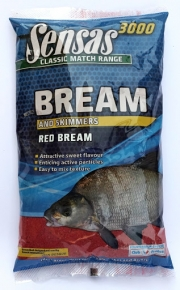 ZANĘTA SENSAS 3000 SUPER BREAM RED 1KG