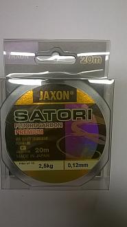 FLUOROCARBON JAXON PREMIUM 0,12MM20M/2,5KG