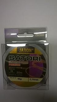 FLUOROCARBON JAXON PREMIUM 0,14MM20M/4KG