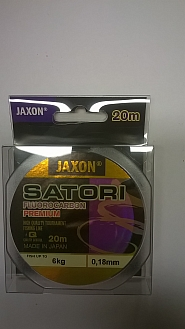 FLUOROCARBON JAXON PREMIIUM 0,18MM20M/6KG
