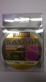 FLUOROCARBON JAXON PREMIUM 0,30MM20M/15KG