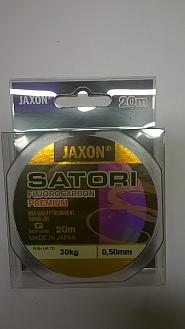 FLUOROCARBON JAXON PREMIUM 0,50MM20M/30KG