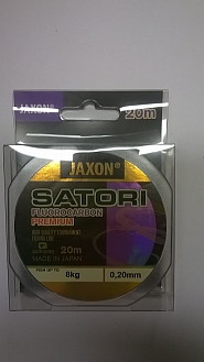 FLUOROCARBON JAXON PREMIUM 0,20MM20M/8KG