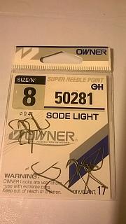 HACZYK OWNER SODE LIGHT 50281 ROZMIAR 8 /W OPAKOWANIU 17SZT