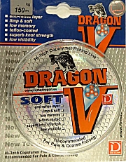 ŻYŁKA  DRAGON   V  SOFT   150 m     0,16  mm