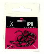 X rozmiar 2 - TEFLON WARMUZ BAITS